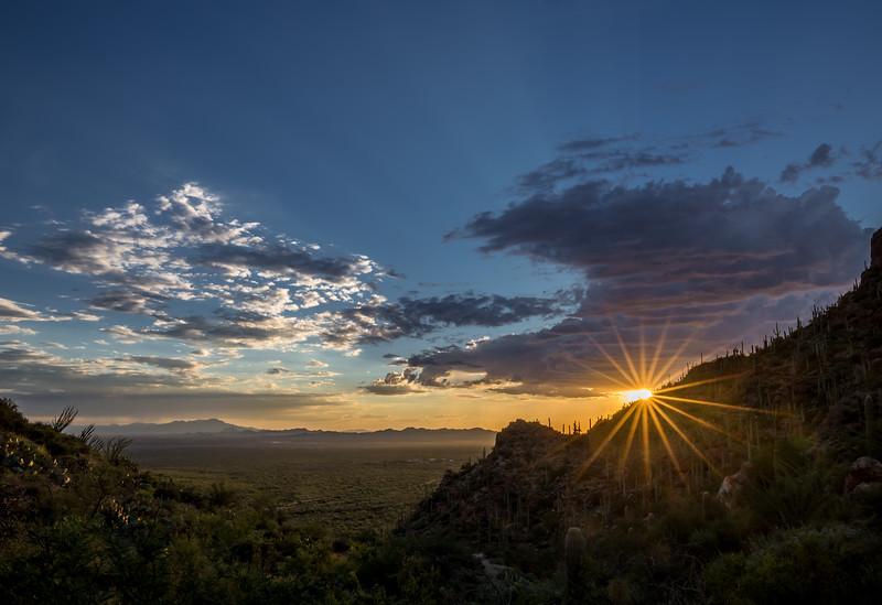 Ernie Schloss - Gate's Pass Sunset.jpg