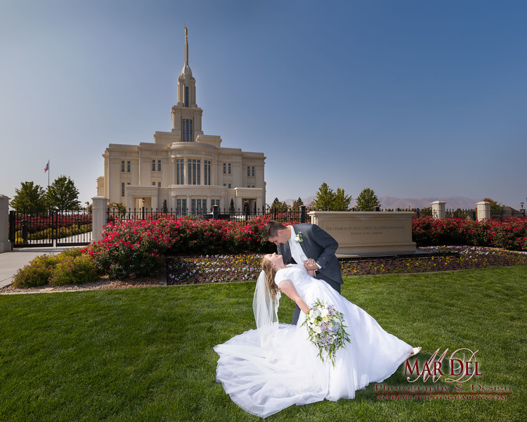 Payson LDS Temple Couple Dipping.jpg