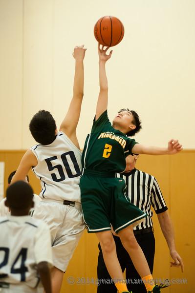 2014 6th Grade Basketball vs. Putnam