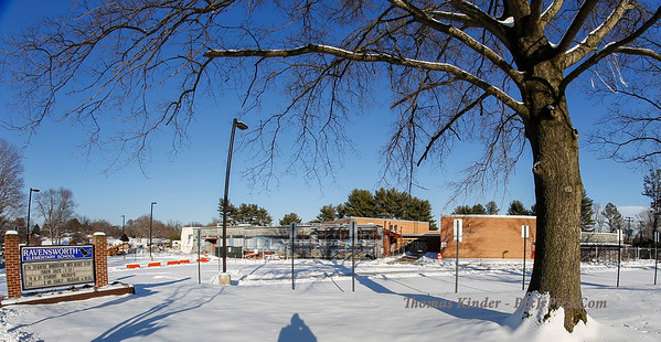 Plowing Ravensworth Elementary School 2/17/15