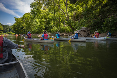 Canoeing the Harpeth River & the Gossett Tract at Harpeth River SP