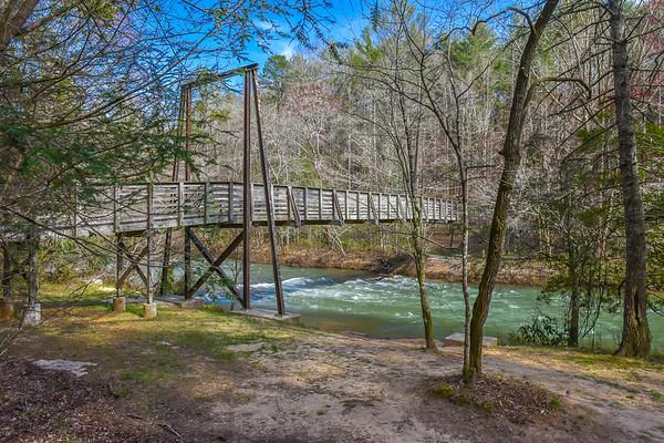 Tallaluh Falls Shortline Trail & Bridge - 3-23-19