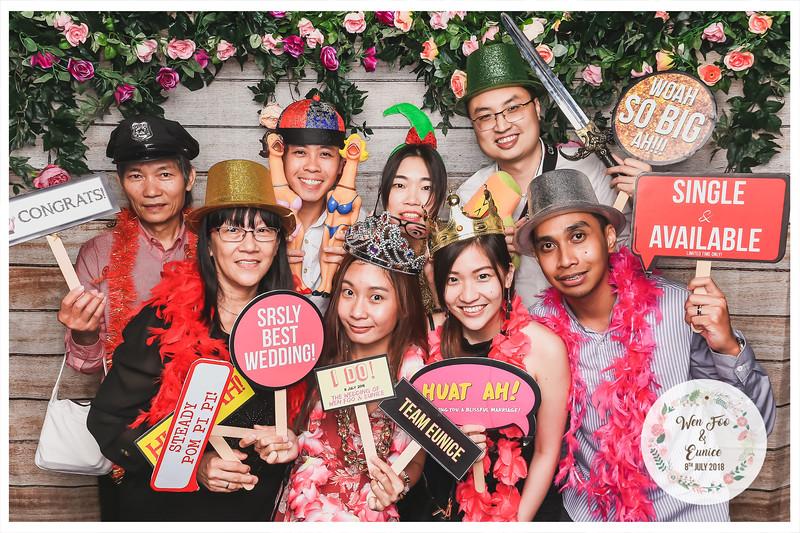 Wedding of Wen Foo & Eunice | © www.SRSLYPhotobooth.sg