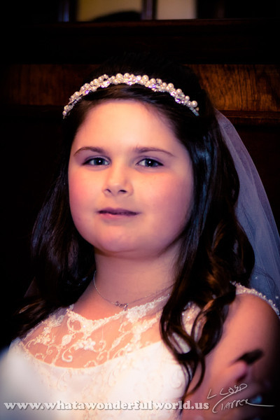 Olivia Grace LaMere First Communion