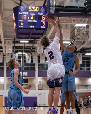 Broughton varsity basketball vs Green Hope. November 20, 2018, MRC_8421