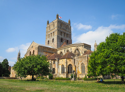 Tewkesbury Abbey and Town 2018