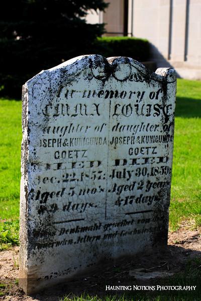 Sisters (Clinton Grove Cemetery, Clinton Township MI)