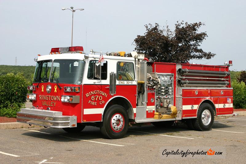 Ringtown Valley Emergency Services (Union Township) Engine 30-11: 1987 Sutphen 1500/750