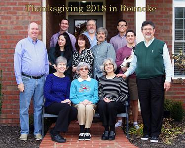 Thanksgiving 2018 in Roanoke