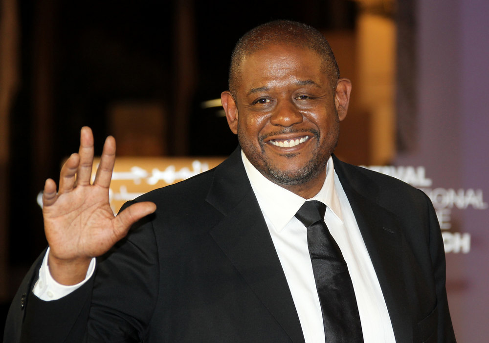 Description of . US actor and director Forest Whitaker arrives at the 11th Marrakech International Film Festival in Marrakech on December 7, 2011.  VALERY HACHE/AFP/Getty Images