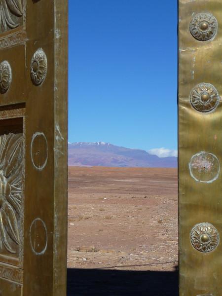 Ouarzazate-wood