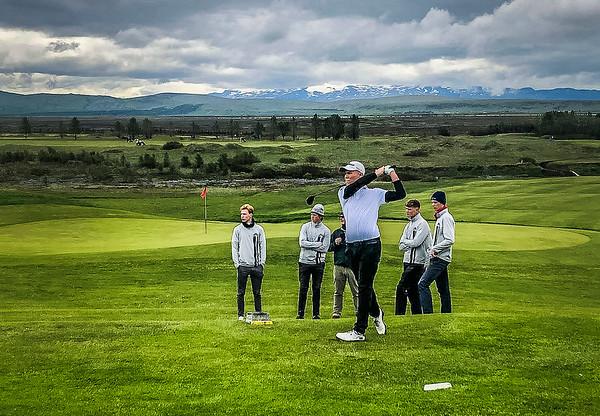 Íslandsmót golfklúbba 18 ára og yngri - Hella