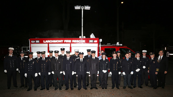 Larchmont Fire Department Inspection 2015