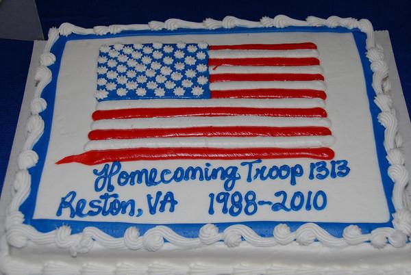 Troop 1313 Homecoming
