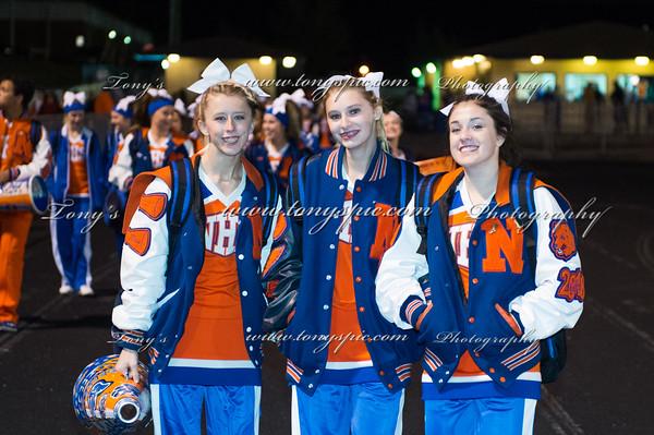 Cheerleaders at Grady game 13 Nov 2015