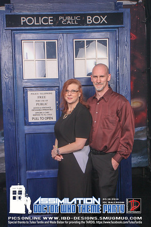Doctor Who Theme Party 3-14-14