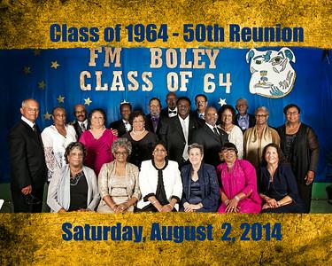 Boley High School Class of '64 - 50th Reunion