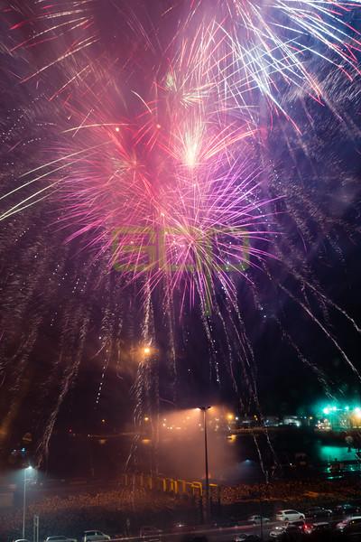 Lyttelton Festival of Lights Fireworks 2017