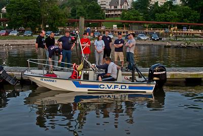 5-24-11 Boat Drill