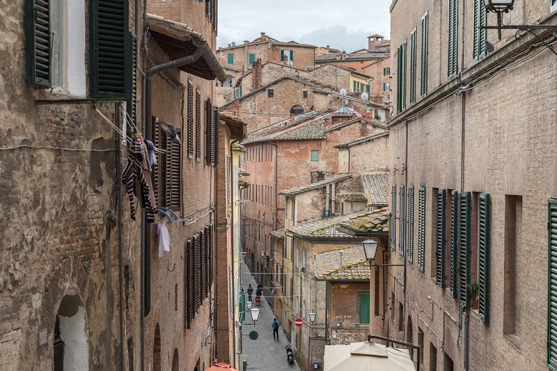 Costa Sant'Antonio - Siena, Italy - April 5, 2015