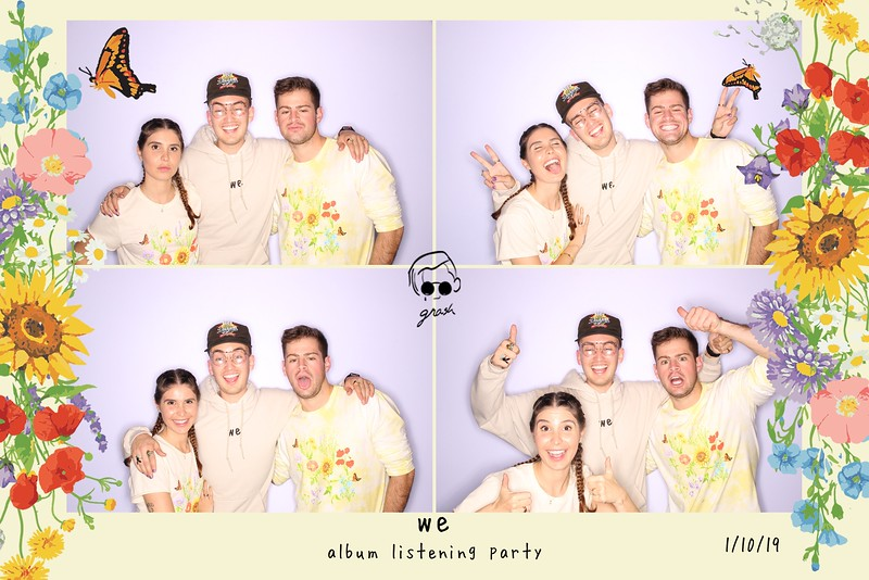 Gnash Album Listening Party (GIF Booth)