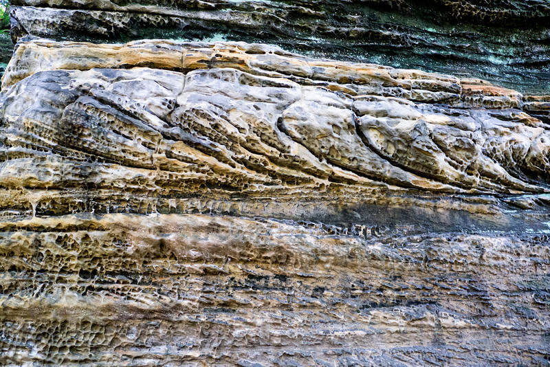 Cross bedded Shale