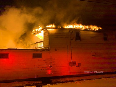 Structure Fire - Olean, NY - 01/21/2020