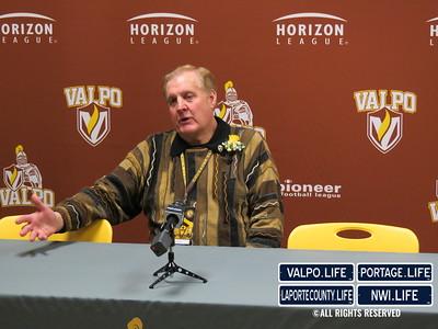 Valparaiso University Jersey Retirement for Bryce Drew, Bruce Lindner
