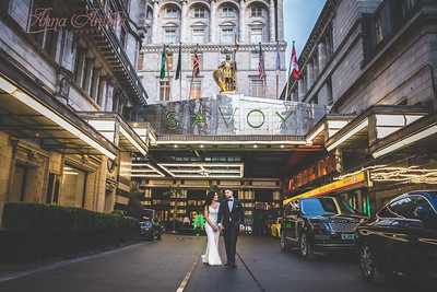 Carmella & Hasan, The Savoy, London