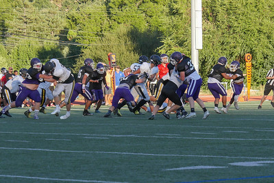 GHS VARSITY FOOTBALL (SCRIMMAGE )