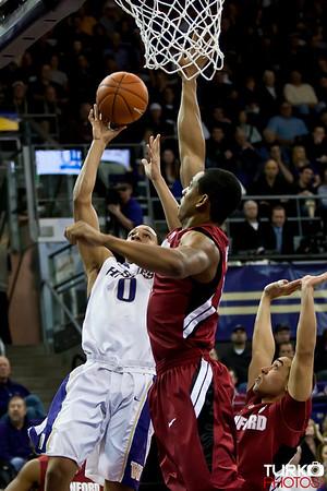 Washington vs Stanford 01/22/2012
