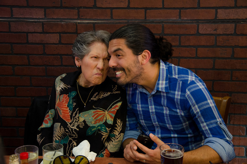 Moms 85th Birthday Dinner  5-12