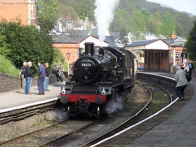 "Llangollen Railway ""Steam, Steel & Stars"" - April 2007"