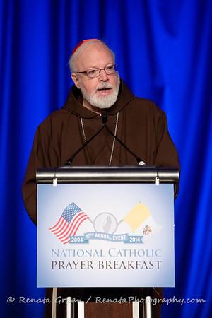 National Catholic Prayer Breakfast 2014