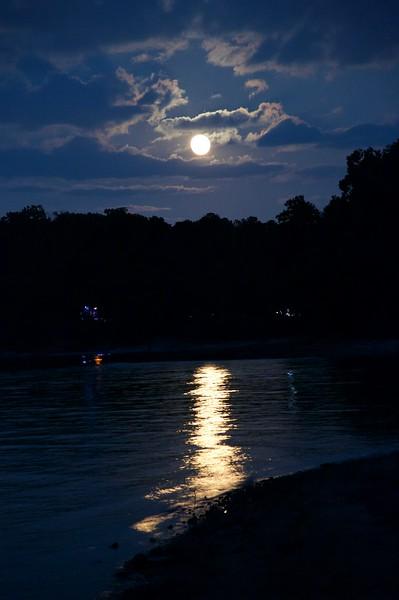 Moonlight over Lake Lanier Georgia.jpg
