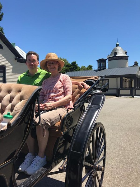 special carriage ride