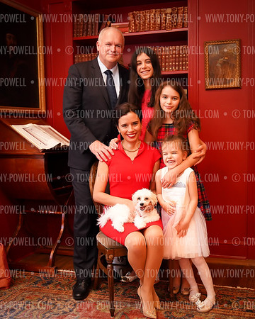 Hungarian Ambassador's Family Portraits