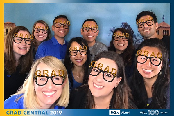 UCLA Grad Central GIF Booth
