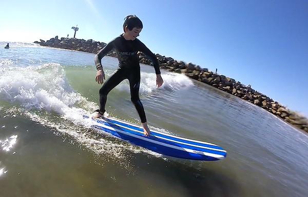 2015 02 14 Denver's Junior Pioneers Hockey Team - San Diego Surfing Academy LLC