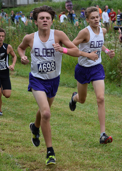 2019 Varsity Cross Country at Lebanon Warrior Invitational