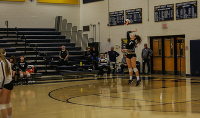 Volleyball: Loudoun County 3, Dominion 0 by Rodney Scott on November 5, 2019
