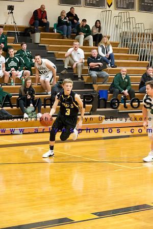 Hutch Boys Basketball vs Faribault