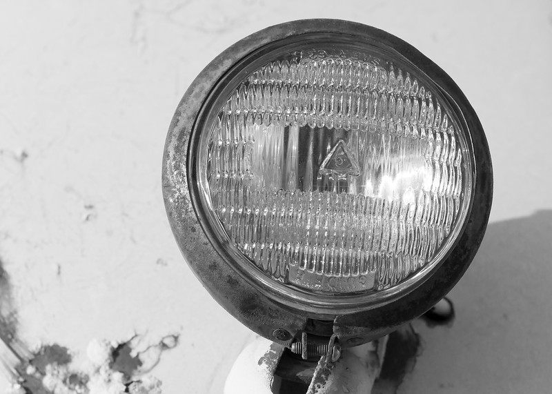 Derelict Headlight
