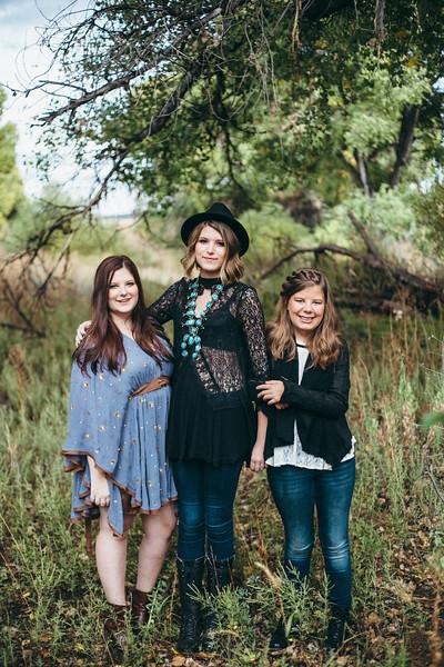 Maddie, Kinsey, Riley | Senior Session
