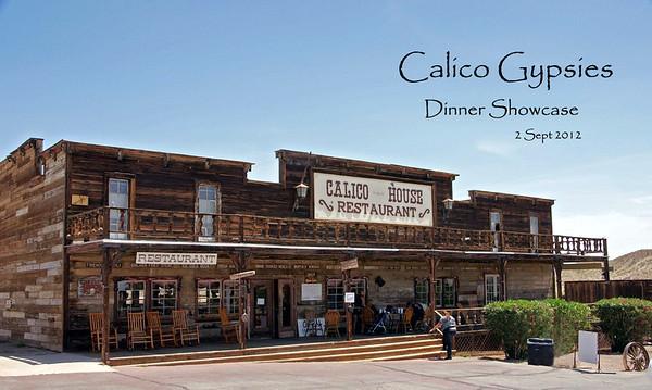 Calico Gypsies Dinner Showcase - 2 Sept 2012