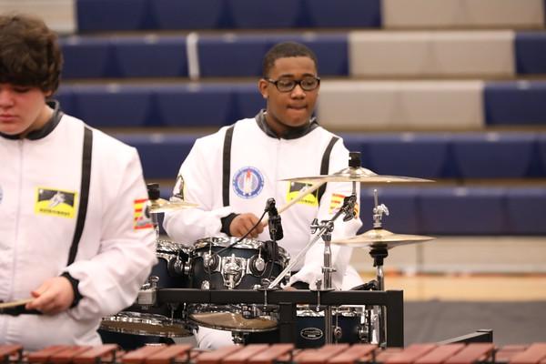 George Washington HS Indoor Percussion