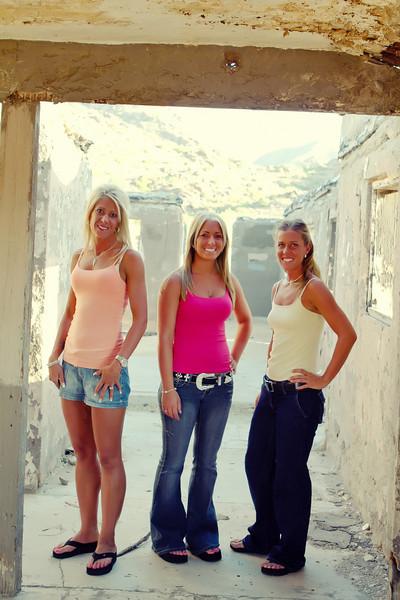Margaret, Melissa and Michelle