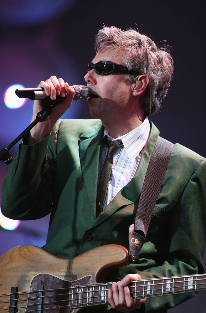 . Adam Yauch of American hip-hop group Beastie Boys.  (Photo by Matt Cardy/Getty Images)