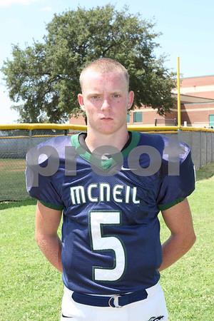 Mcneil Varsity Heads FB 2012