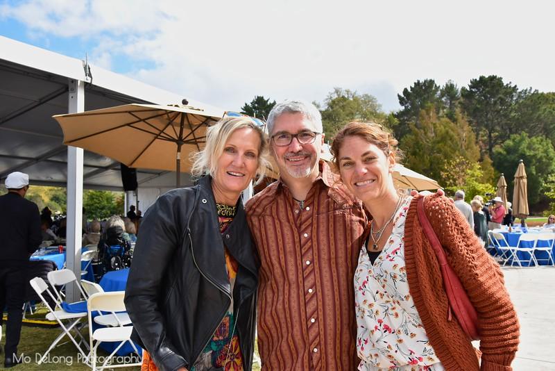 Janis Stitt, Jeff Wands and Meryl Fields